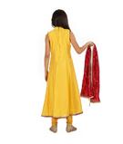 Yellow Chudidar 3