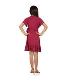 Maroon Dresses 3