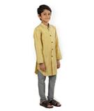 Mustard Sherwani 2