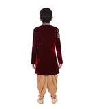 Maroon Coat Suit 3