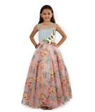 Multicolour Gown 1