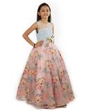 Multicolour Gown 2