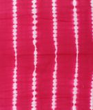 Pink Base Tie-Dye Shibori Hand Block Dress Material Fabric 1
